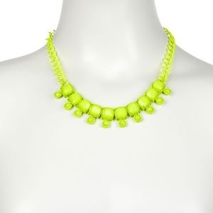 Bright Yellow Spring Necklace